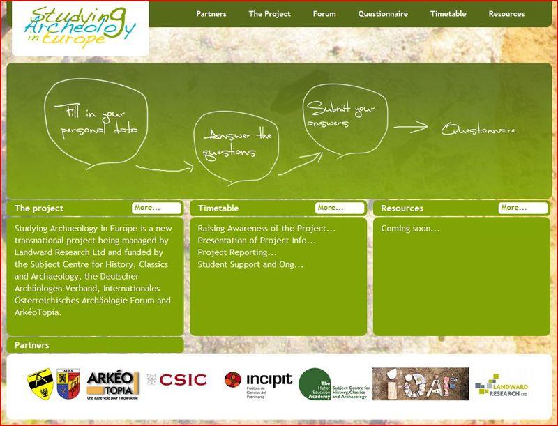 SAE homepage