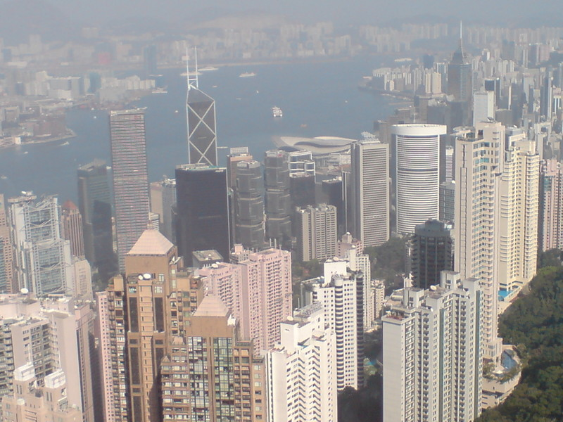 view of central hong kong